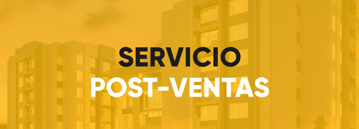 Servicio post ventas - Constructora B&B mobile